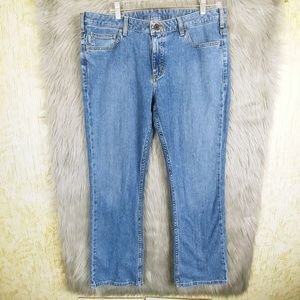 Carrhartt Curvy Fit 14 × 32 Straight Leg Jeans